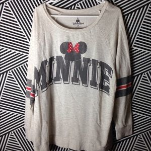 SALE - Disney Minnie Mickey Mouse Long Sleeve top
